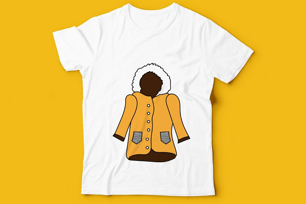Kids T-Shirt Design Illustration example image 1