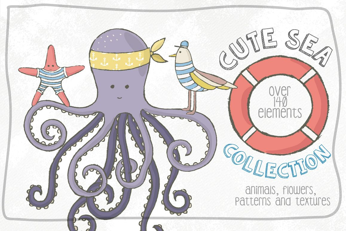 Cute Sea Collection example image 1