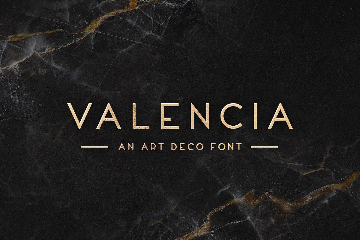 Valencia Typeface example image 1