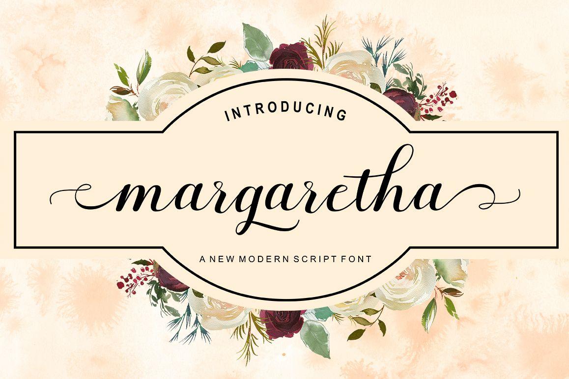 Margaretha Script example image 1
