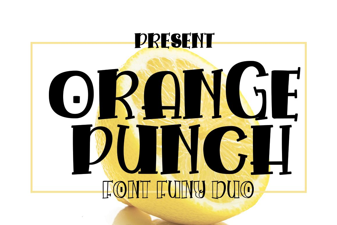 Orange Punch example image 1