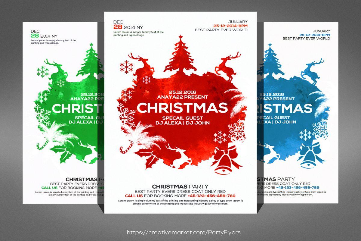 Christmas Flyers.Christmas Flyers