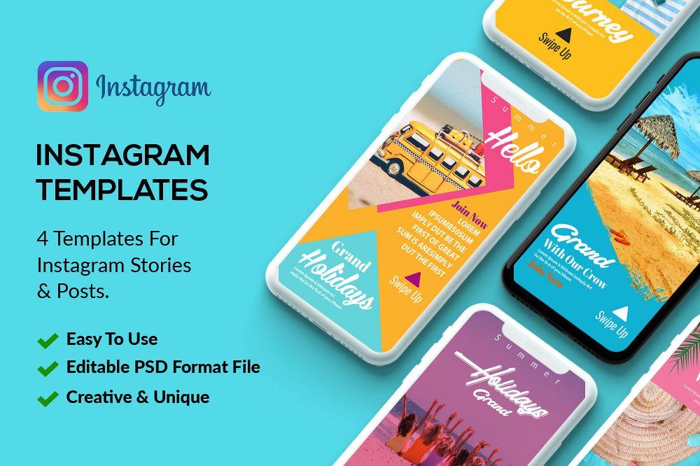 4 Instagram Stories Tour & Travel example image 1
