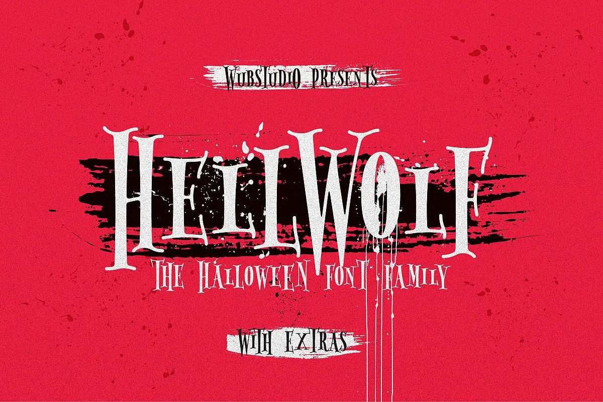 Hellwolf Typeface example image 1