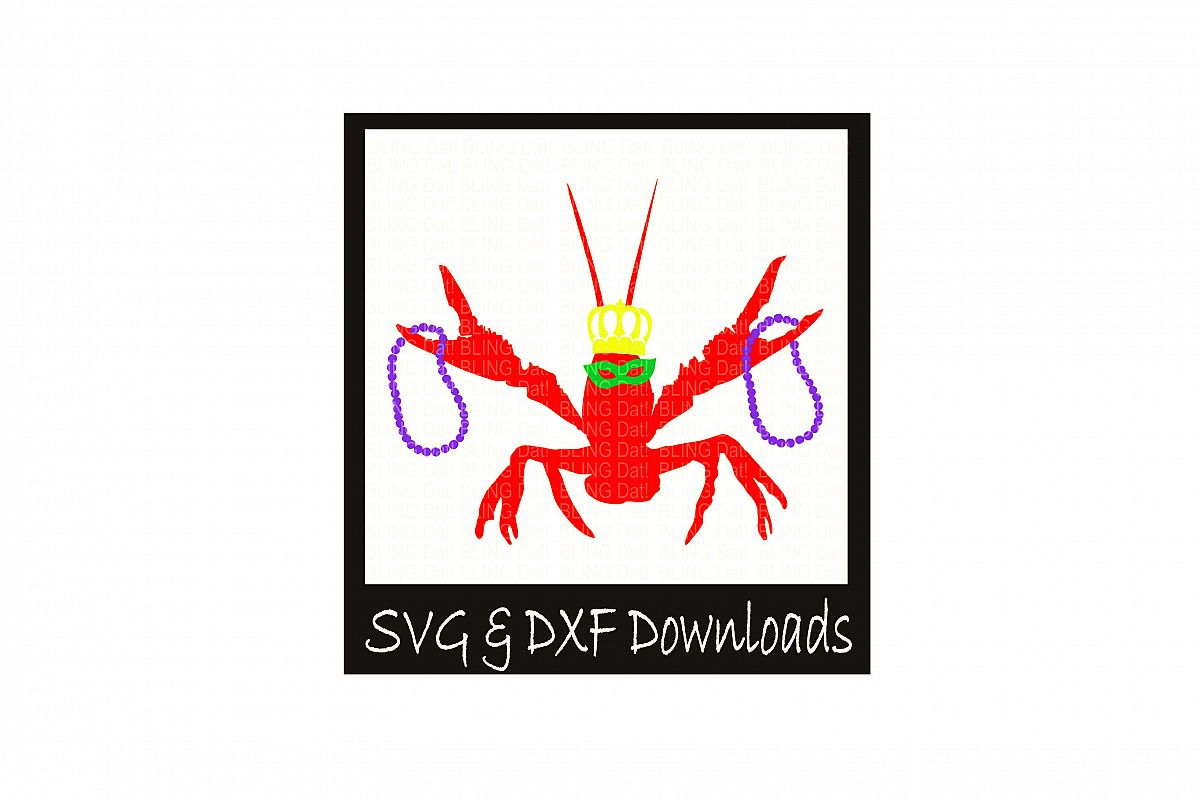 Mardi Gras Crawfish example image 1