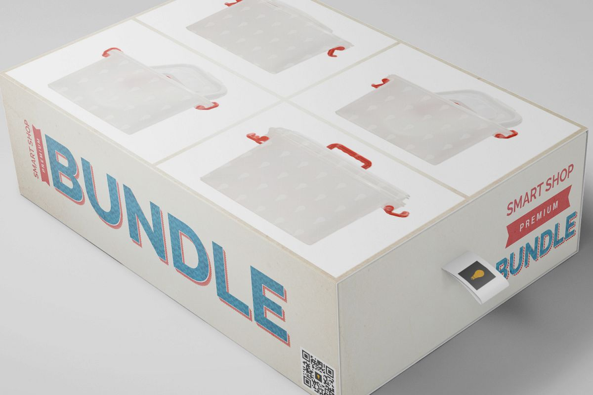 Plastic Package Container Bundle 50% SAVINGS example image 1