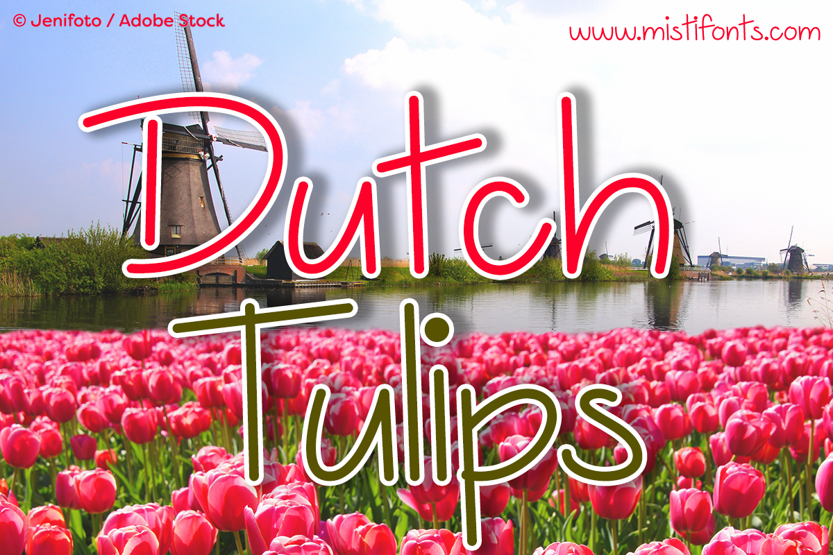Dutch Tulips example image 1