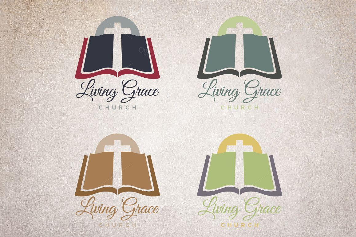 Church Bible Logo example image 1