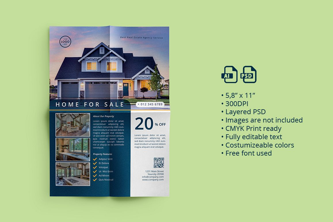 Real Estate Flyer 02 example image 1