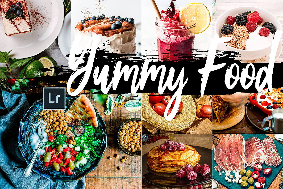 Neo Yummy Food Theme Desktop Lightroom Presets example image 1