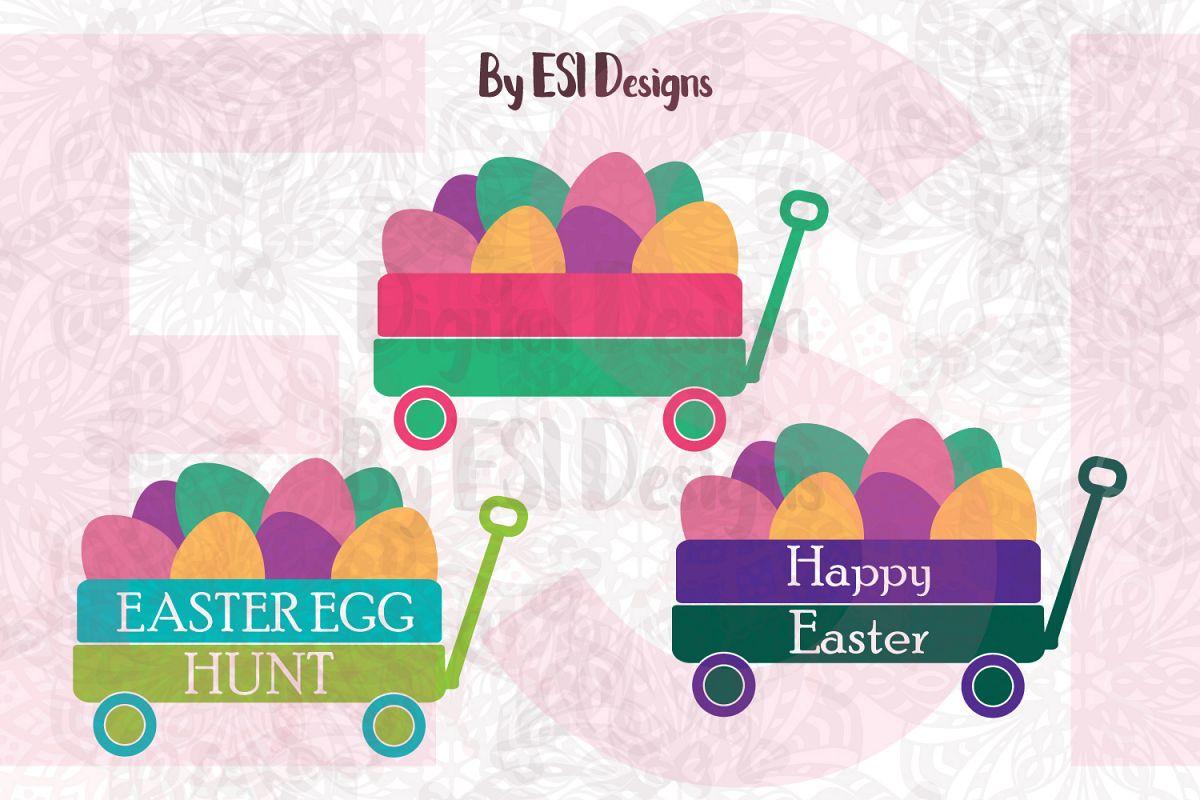 Easter Egg Little Wagon Design example image 1