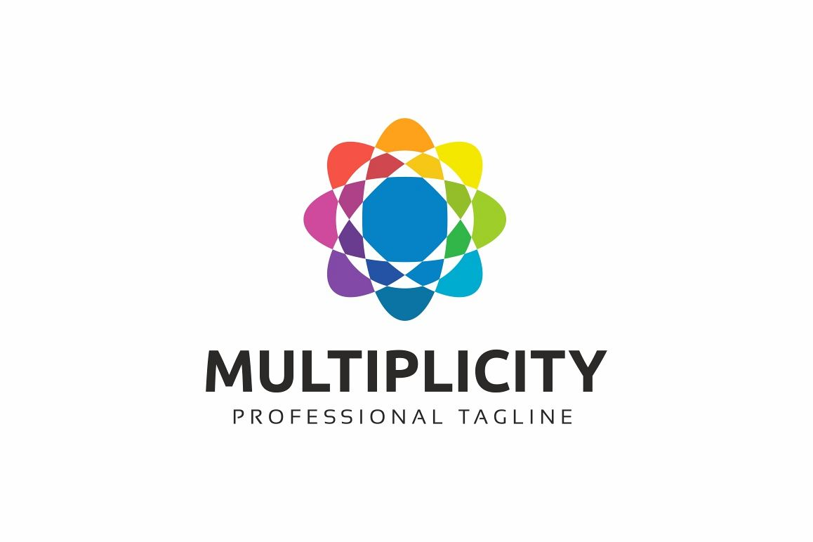 Multiplicity - Abstract Colorful Logo Template example image 1