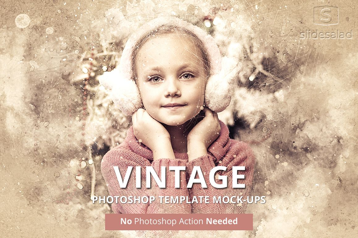 Vintage Art Photoshop Mock-ups example image 1