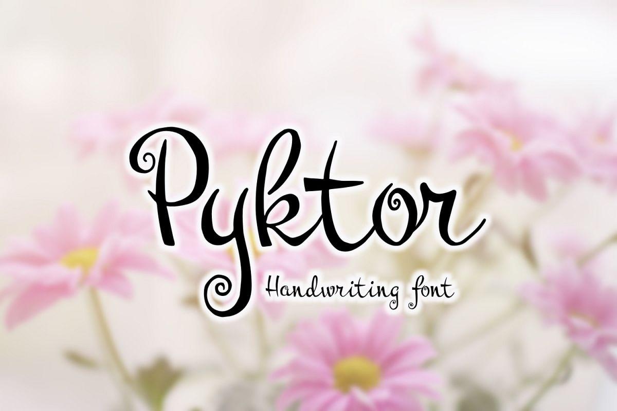 Pyktor Font example image 1