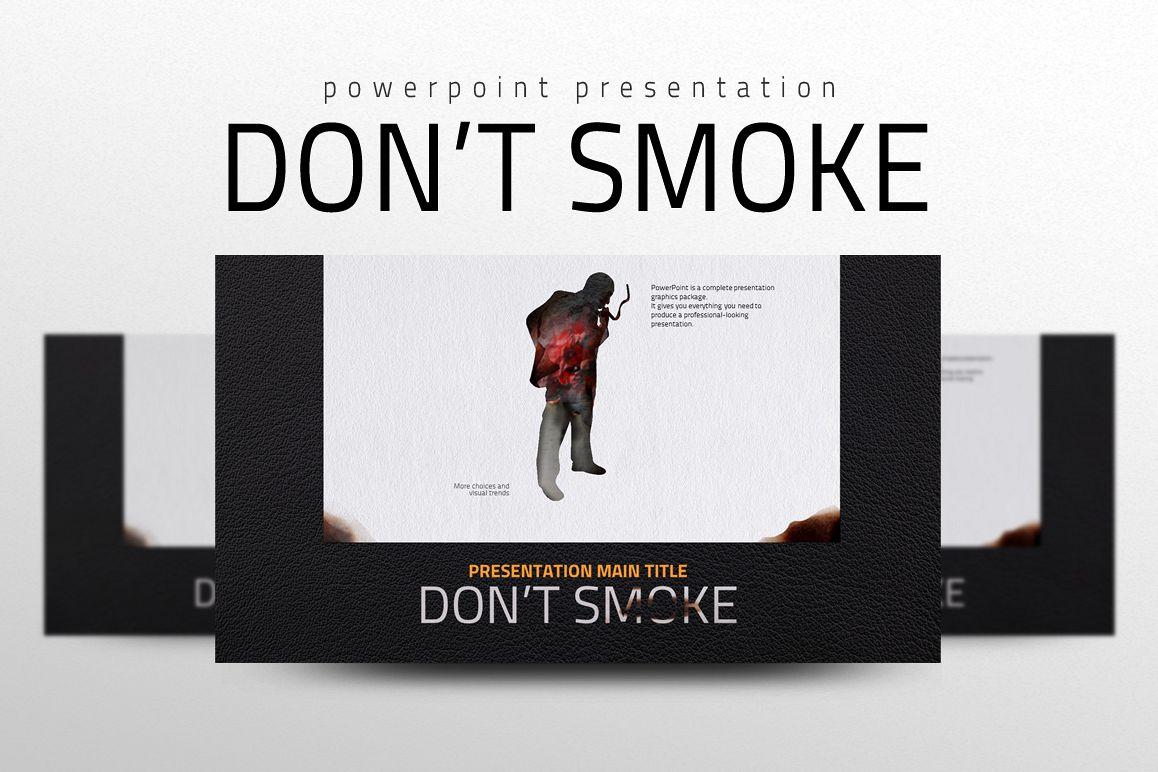 Smoking PPT example image 1