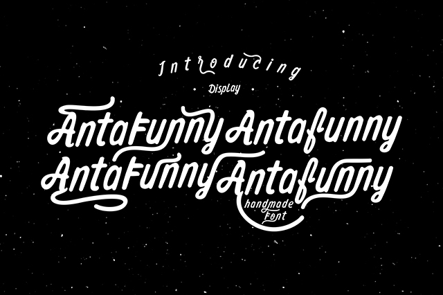 Antafunny Font example image 1