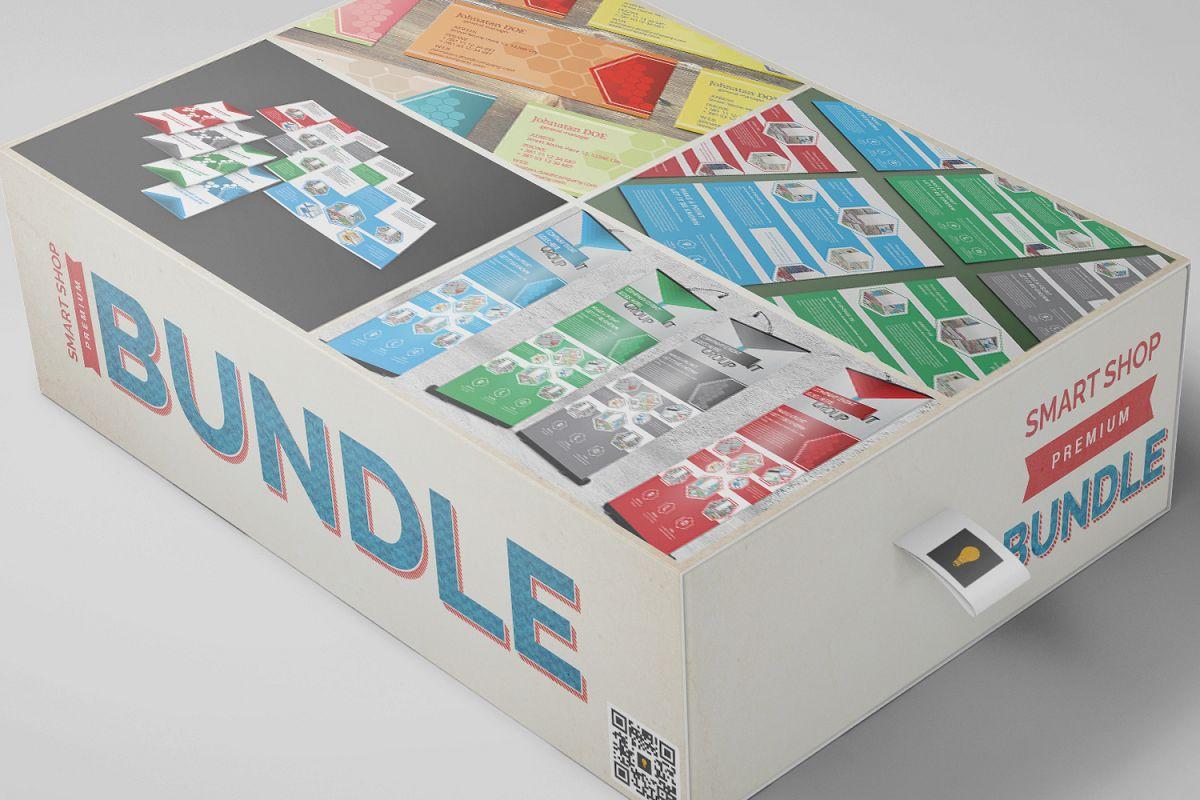 Corporate Hive Print Bundle example image 1