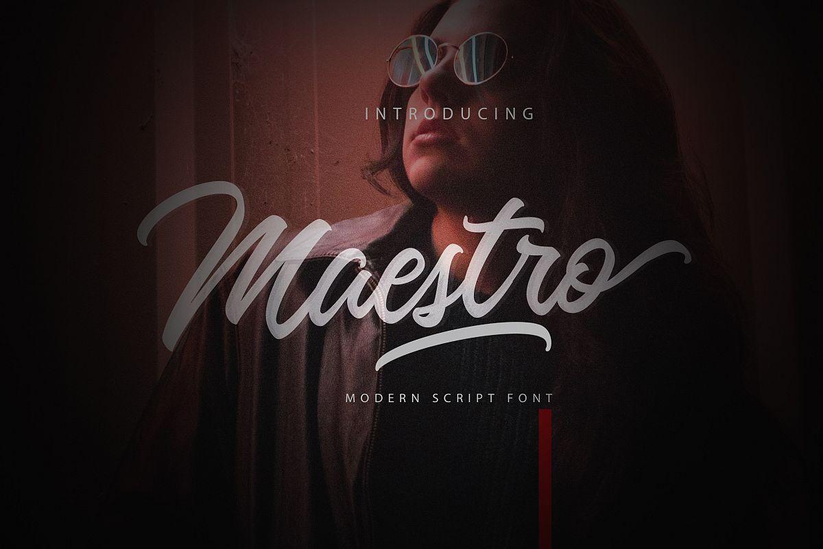 Maestro Script example image 1