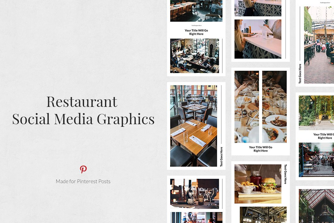 Restaurant Pinterest Posts example image 1
