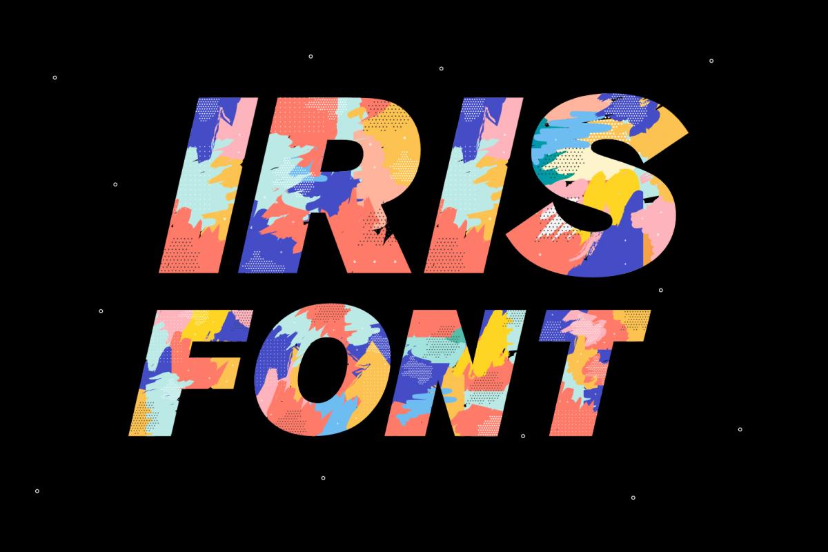 Iris Font example image 1