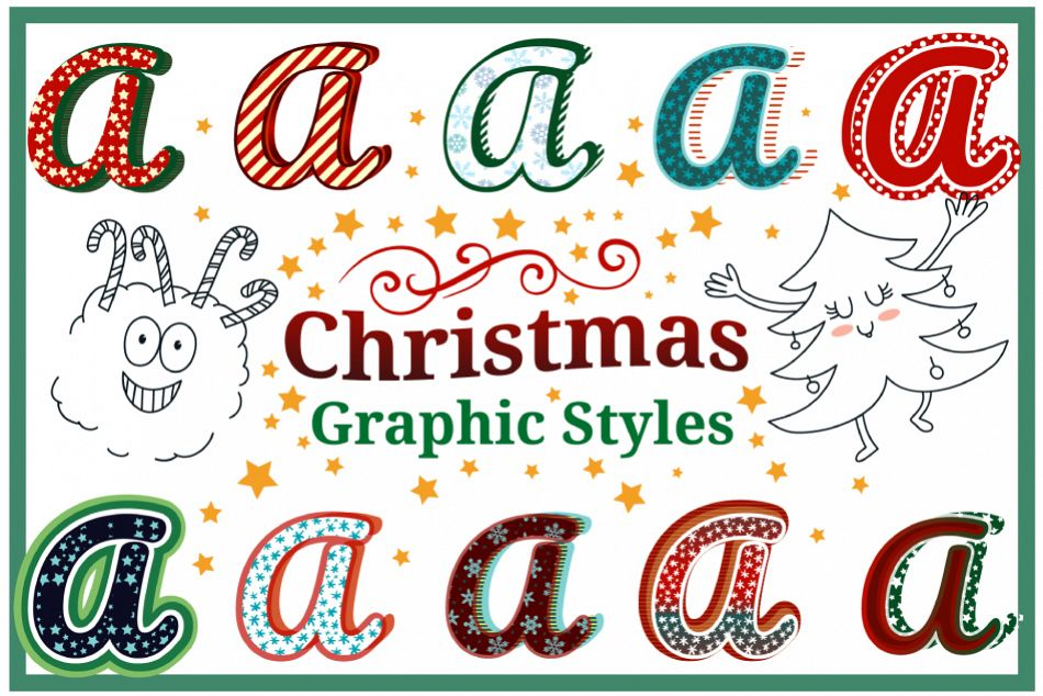Christmas Graphic Styles example image 1