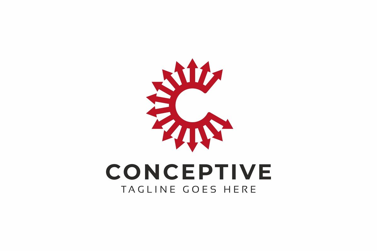 Conceptive C Letter Logo example image 1