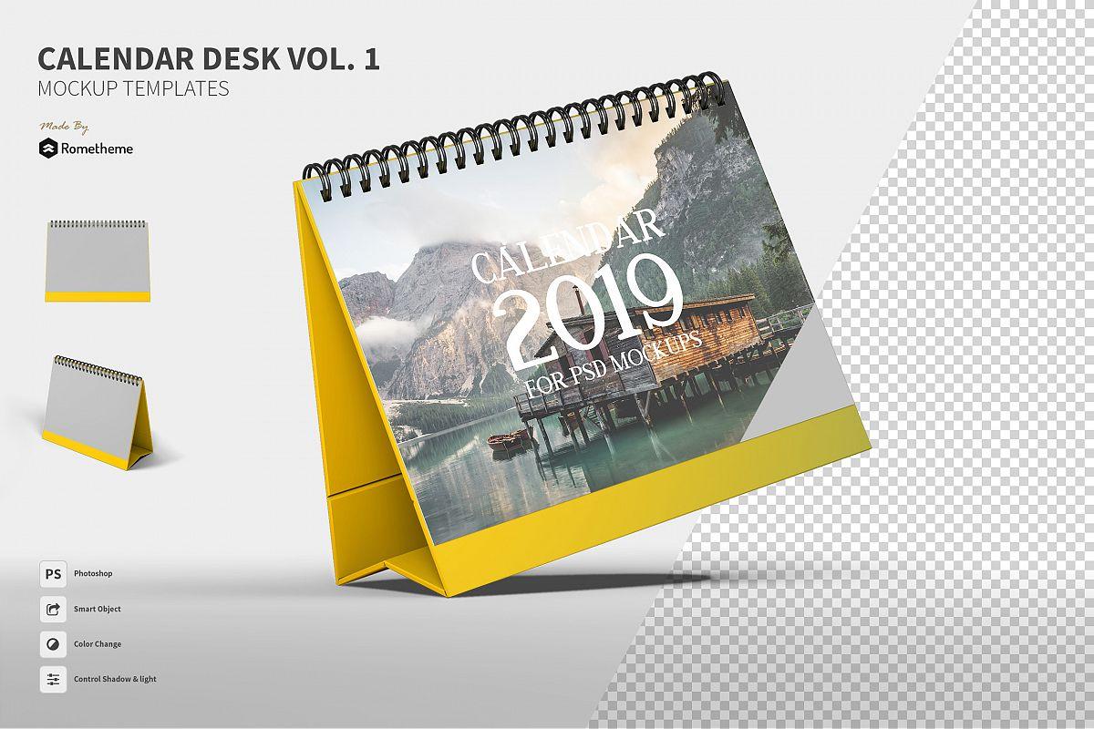 Calendar Table Mockups vol.1 example image 1