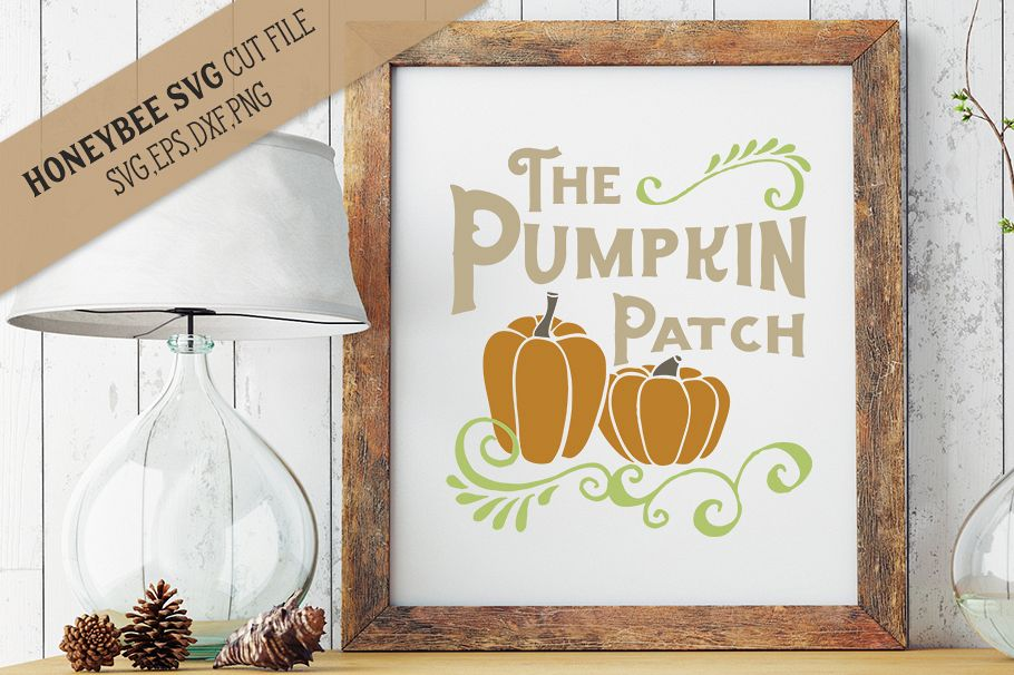 The Pumpkin Patch svg example image 1