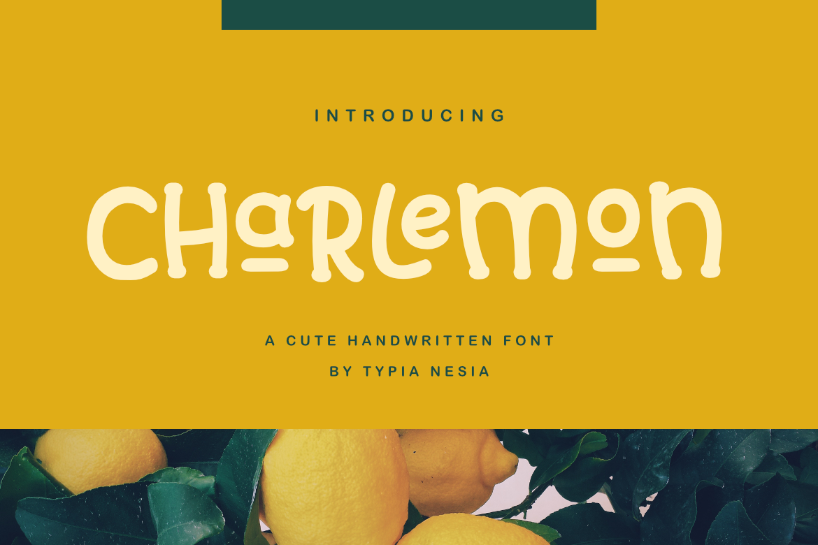 Charlemon Cute Font example image 1