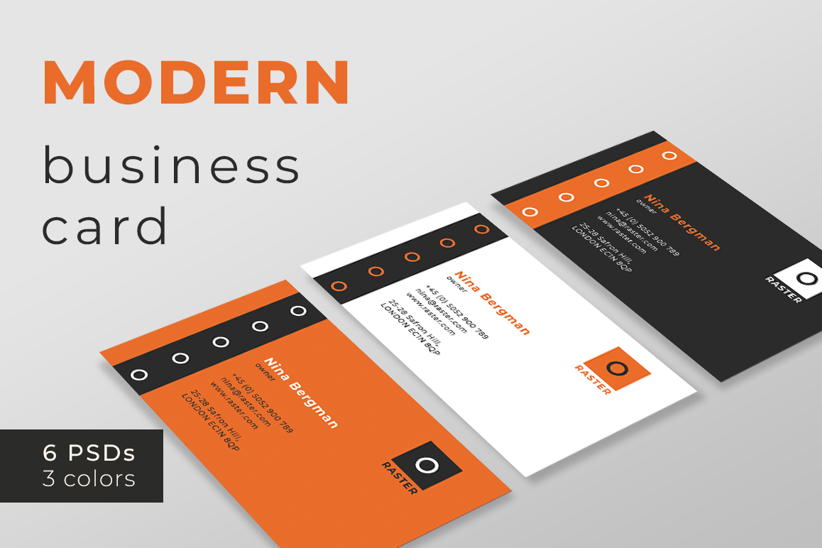 Modern business card templates modern business card templates example image 1 accmission