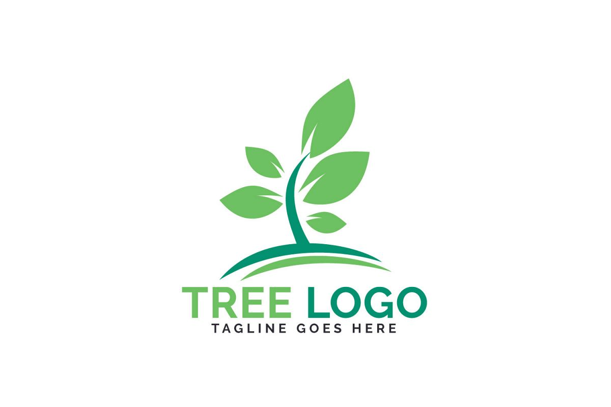 Green Tree logo design. example image 1