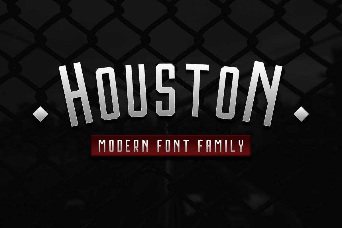 Houston Font Family example image 1