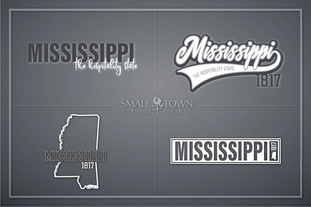 Mississippi, Hospitality state - slogan, PRINT, CUT & DESIGN example image 1