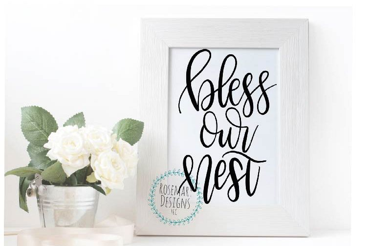 Bless Our Nest example image 1