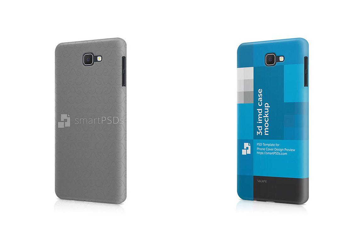 Samsung Galaxy J7 Prime 3d IMD Mobile Case Design Mockup 2016 example image 1