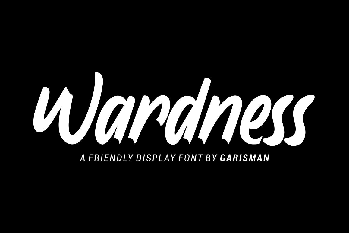 Wardness - Display Font example image 1