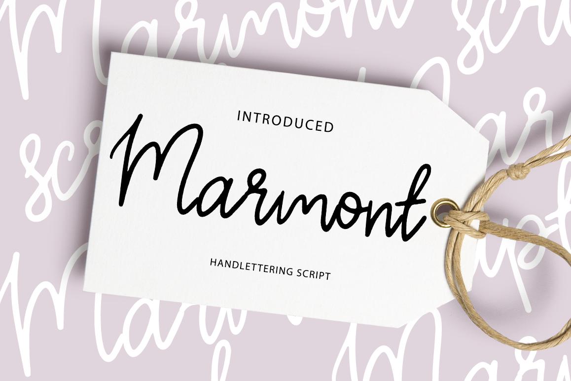 Marmont script example image 1
