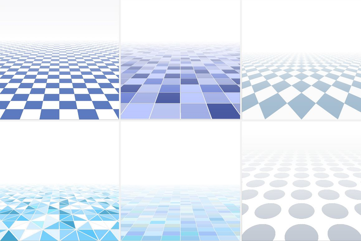 Blue tile abstract backgrounds. example image 1
