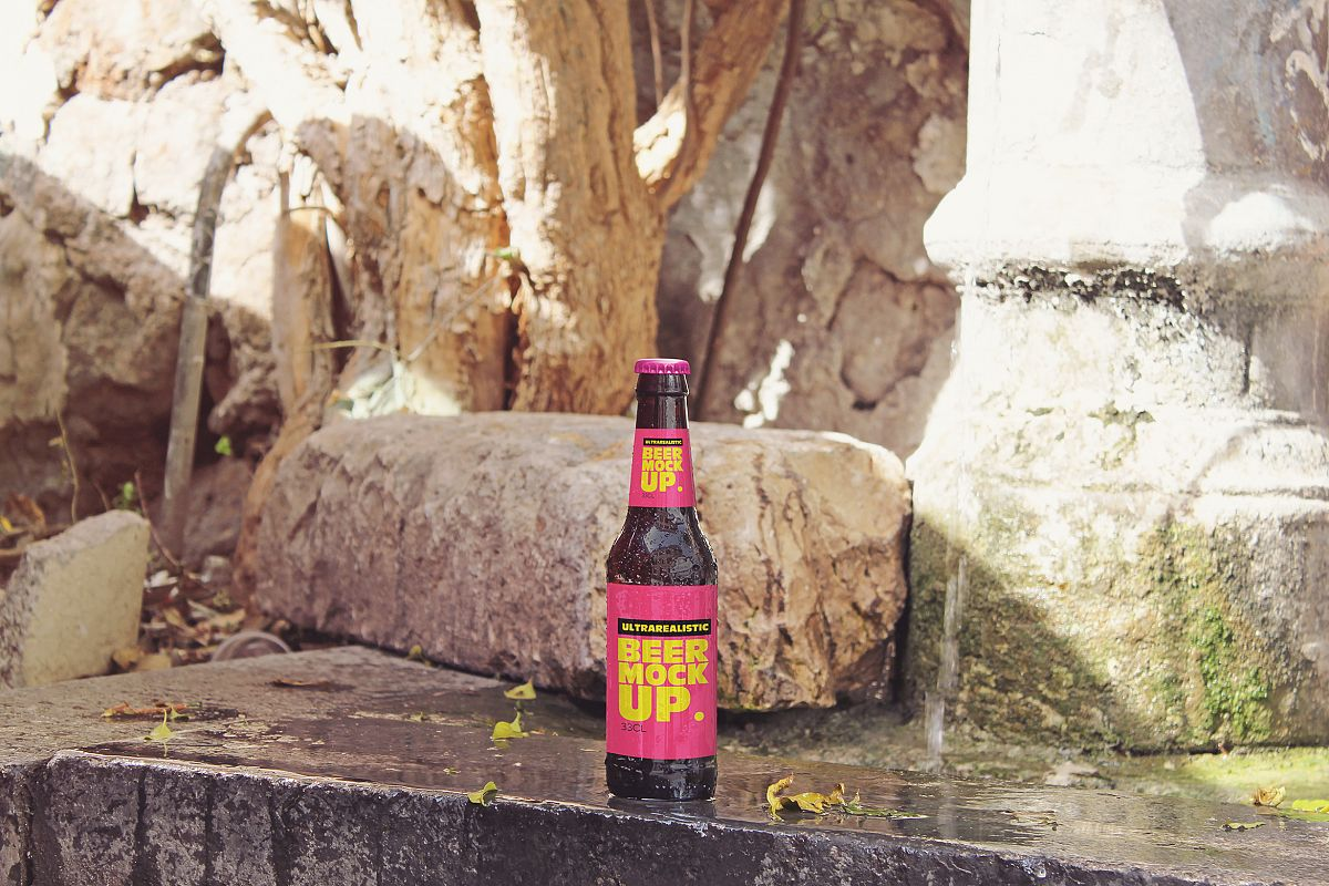 Fountain Beer Mockup example image 1