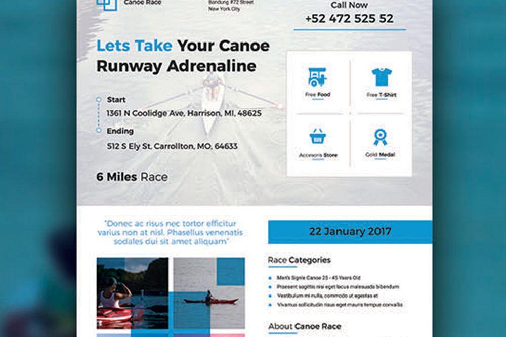 Canoe Flyer example image 1