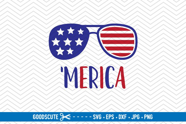Merica - SVG DXF JPG PNG EPS example image 1