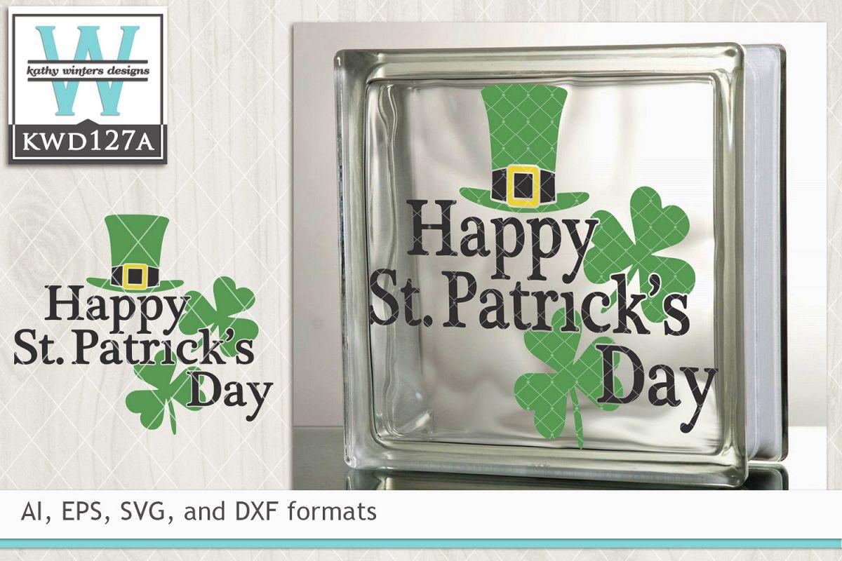 St. Patrick's SVG - Happy St. Patrick's Day example image 1