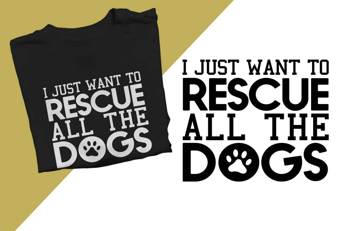 Rescue all the dogs Printable example image 1
