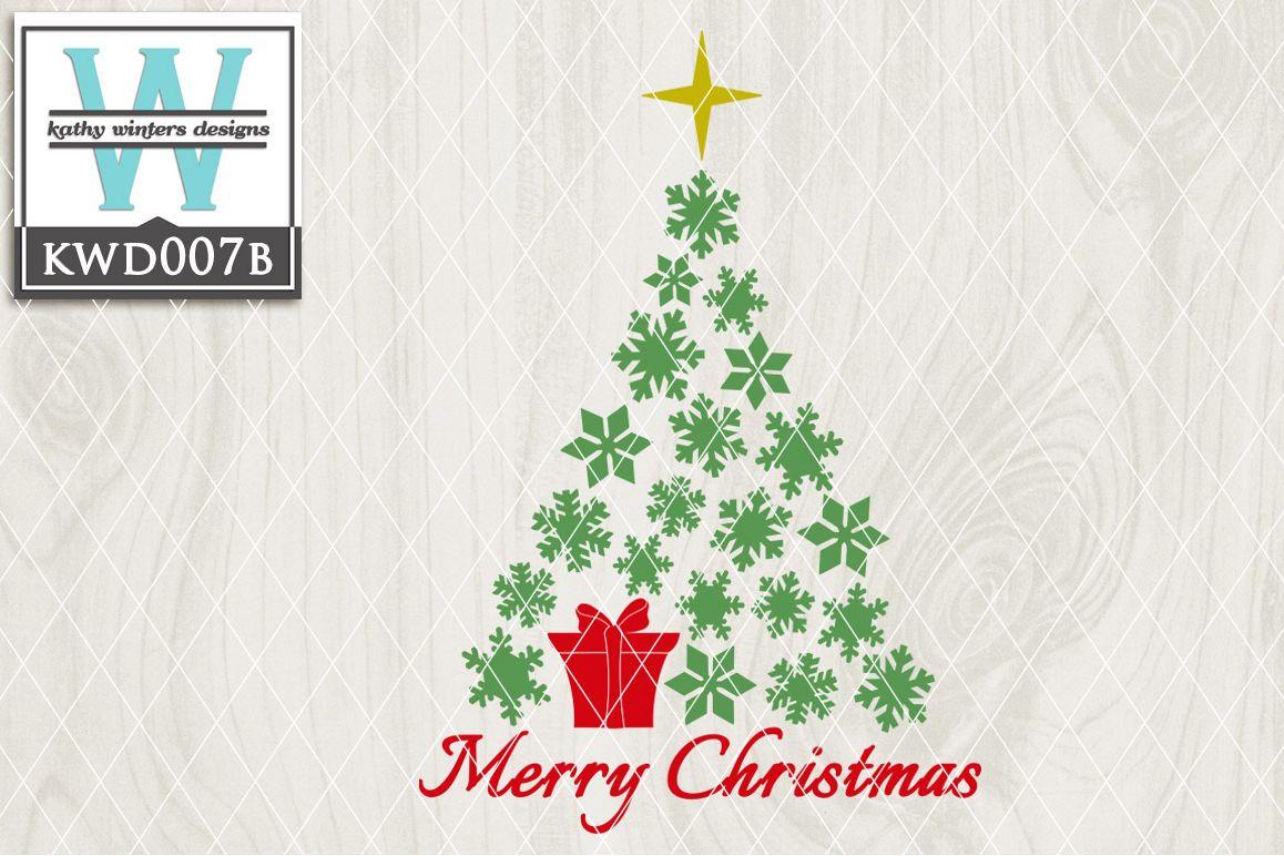 Christmas Cutting File KWD007B example image 1