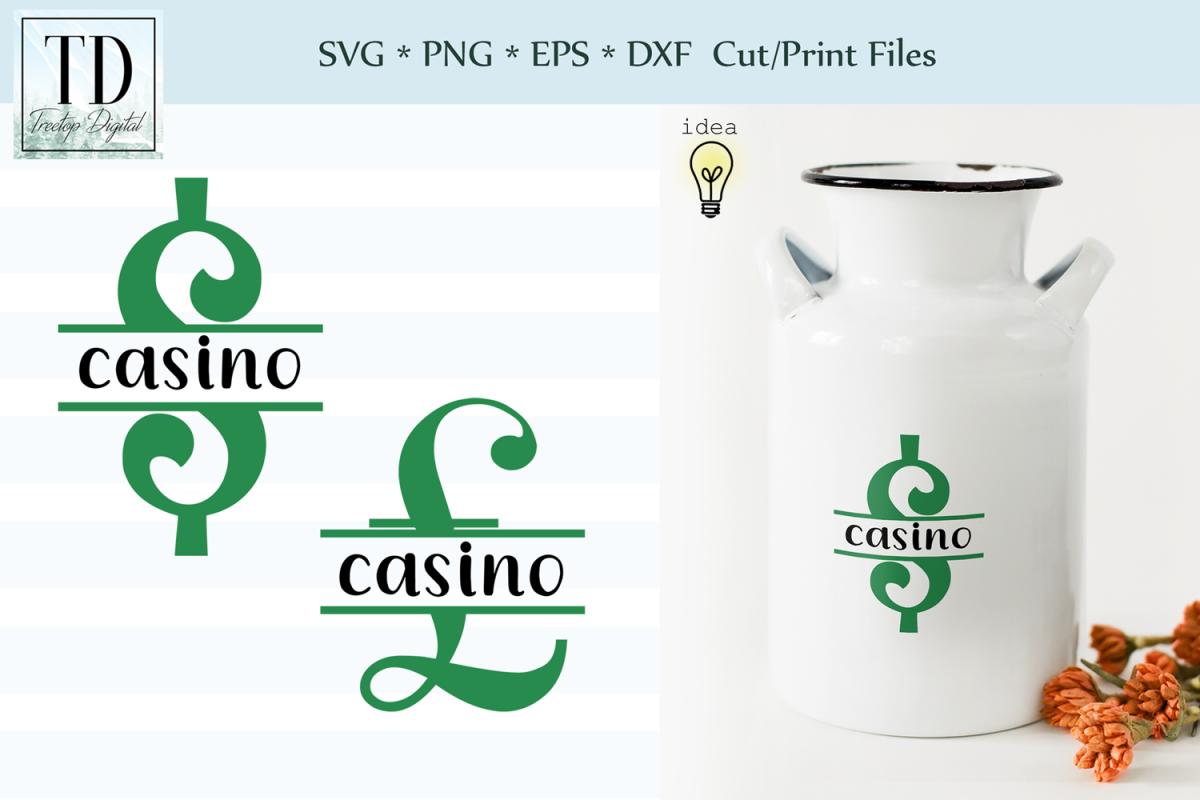 Saving for the Casino Bank Design, Savings Series, SVG example image 1