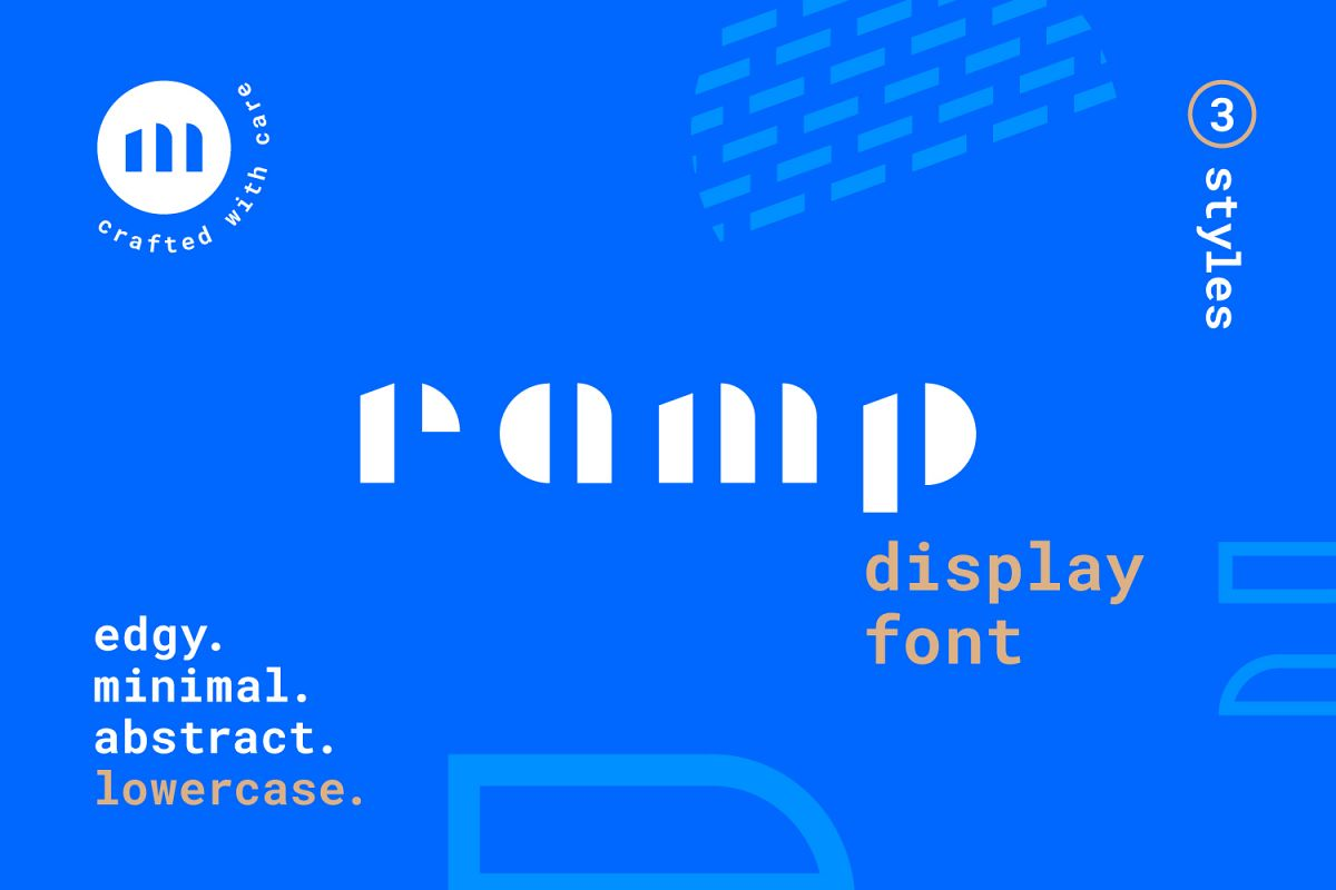 Ramp Display Font example image 1