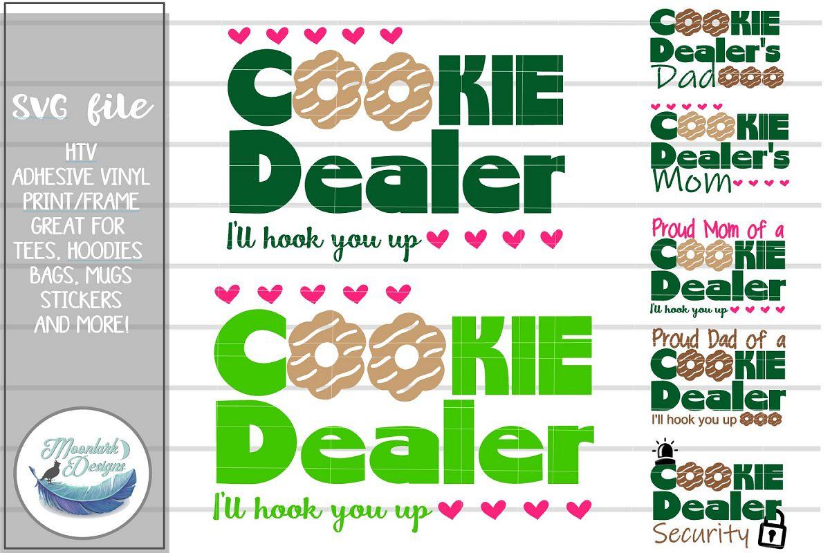Cookie Dealer I'll Hook You Up | SVG | Proud Mom Dad example image 1