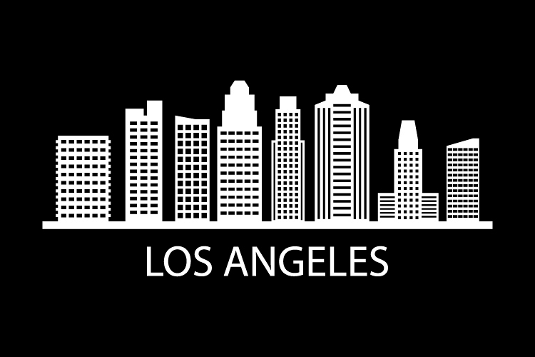 Los Angeles Skyline example image 1