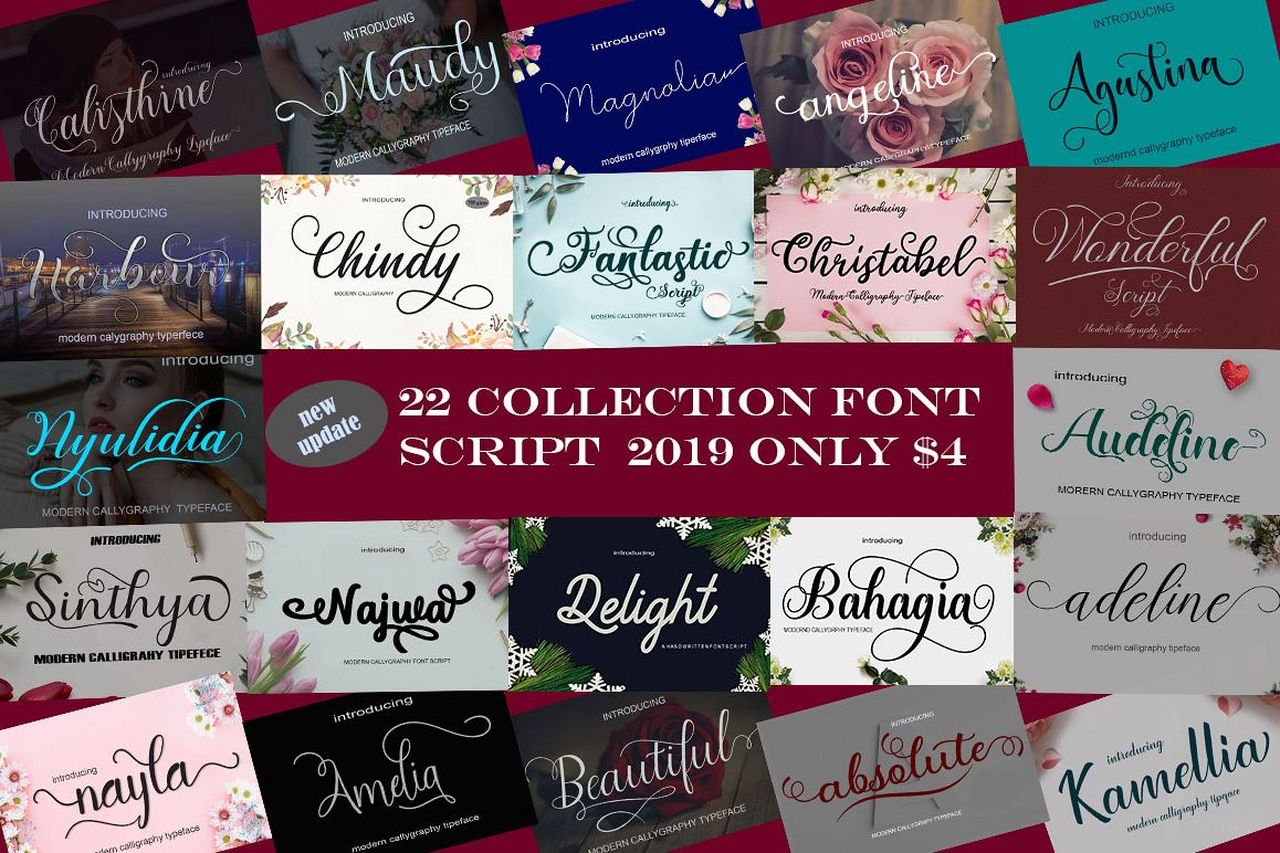 New Font Bundles update example image 1