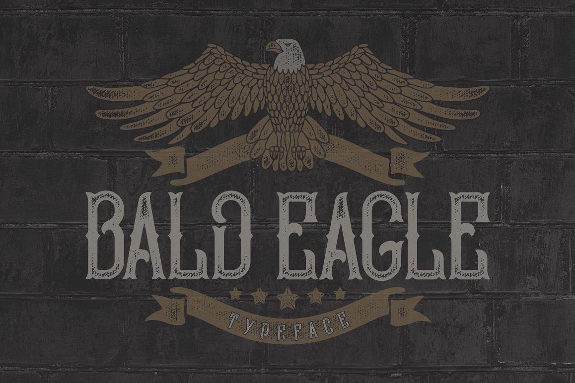 Bald Eagle Typeface example image 1